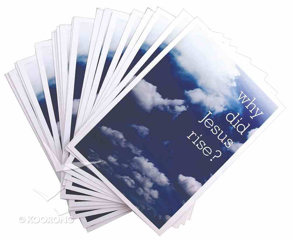 Why Did Jesus Rise? (25 Pack) Booklet