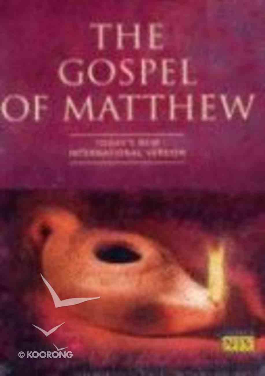 The TNIV Gospel of Matthew Paperback