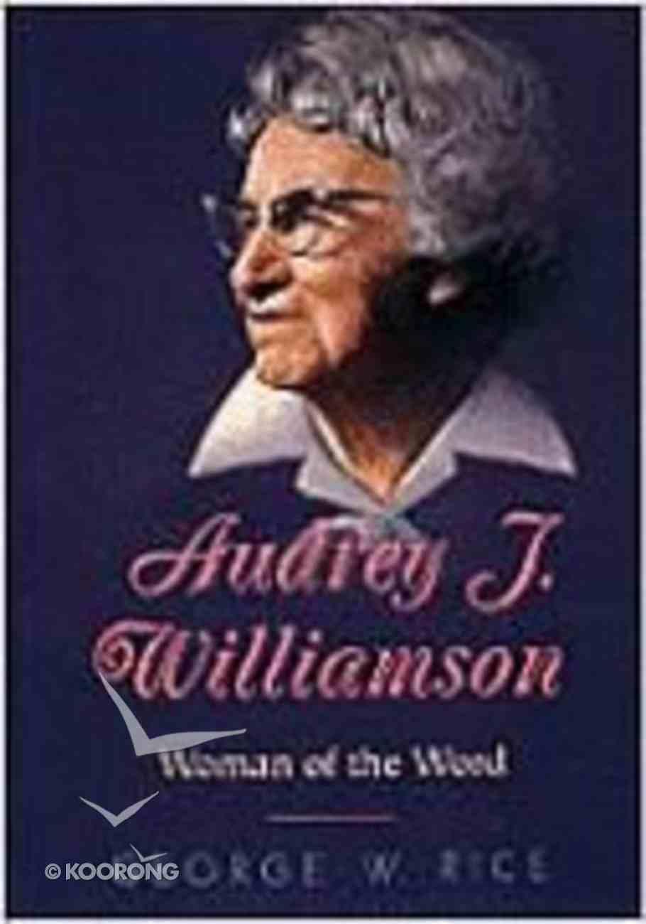 Audrey J Williamson Paperback
