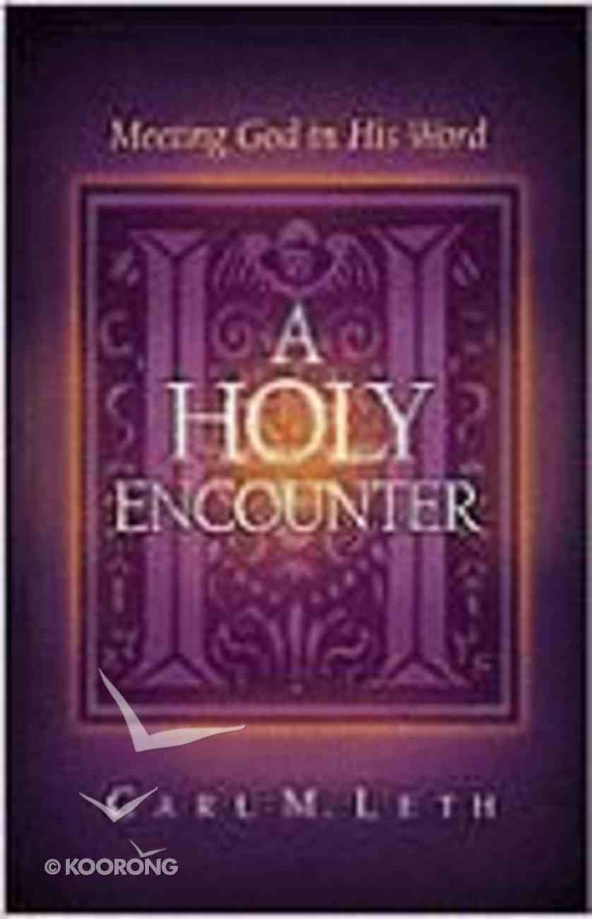 A Holy Encounter Paperback
