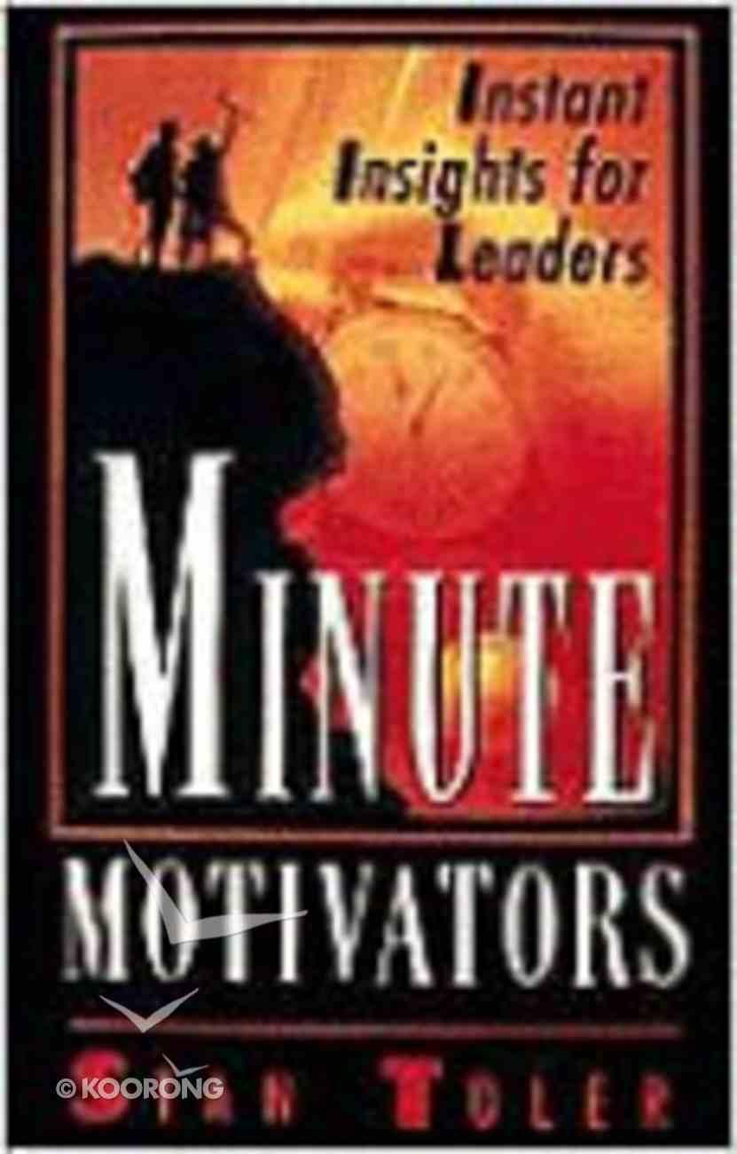 Minute Motivators Paperback