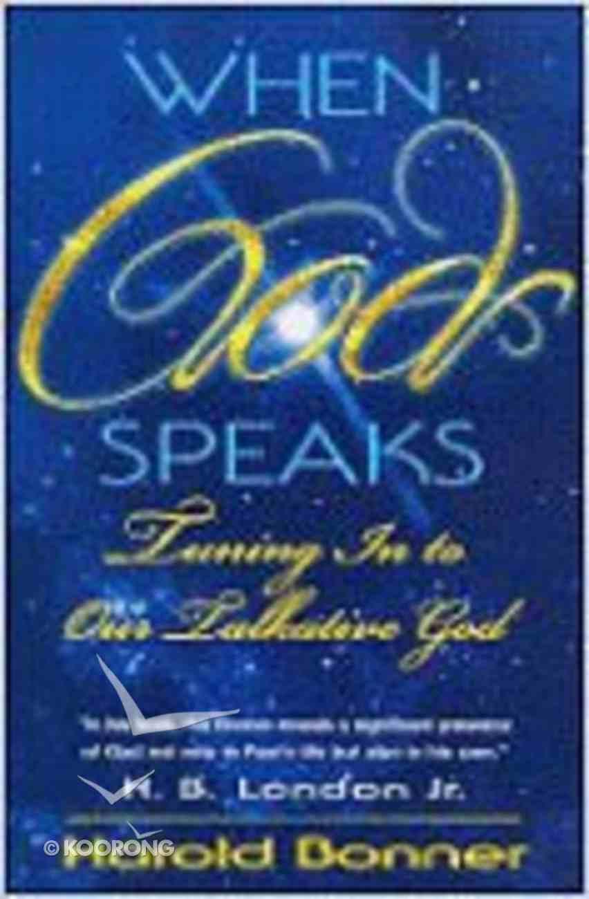 When God Speaks Paperback