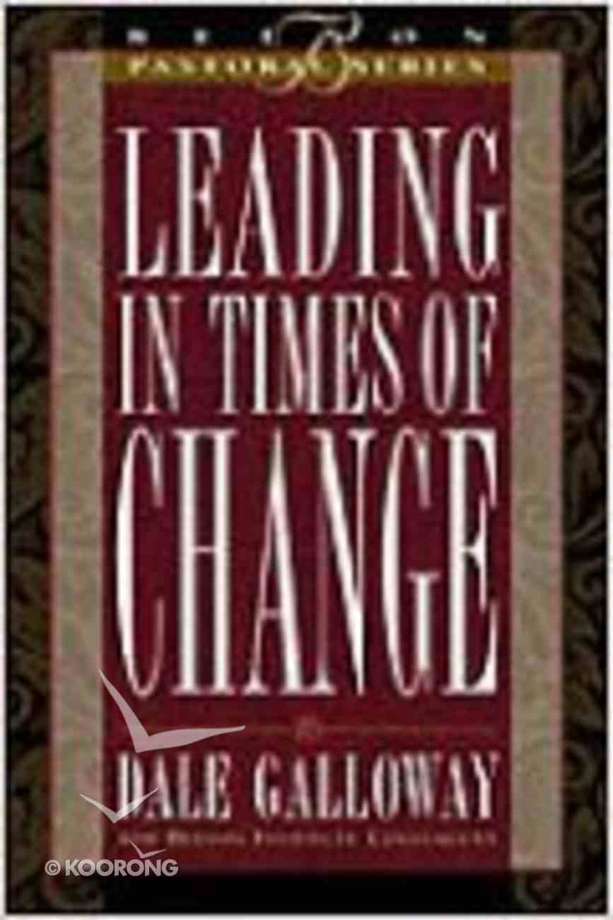 Beeson Pastoral: Leading in Times of Change Hardback
