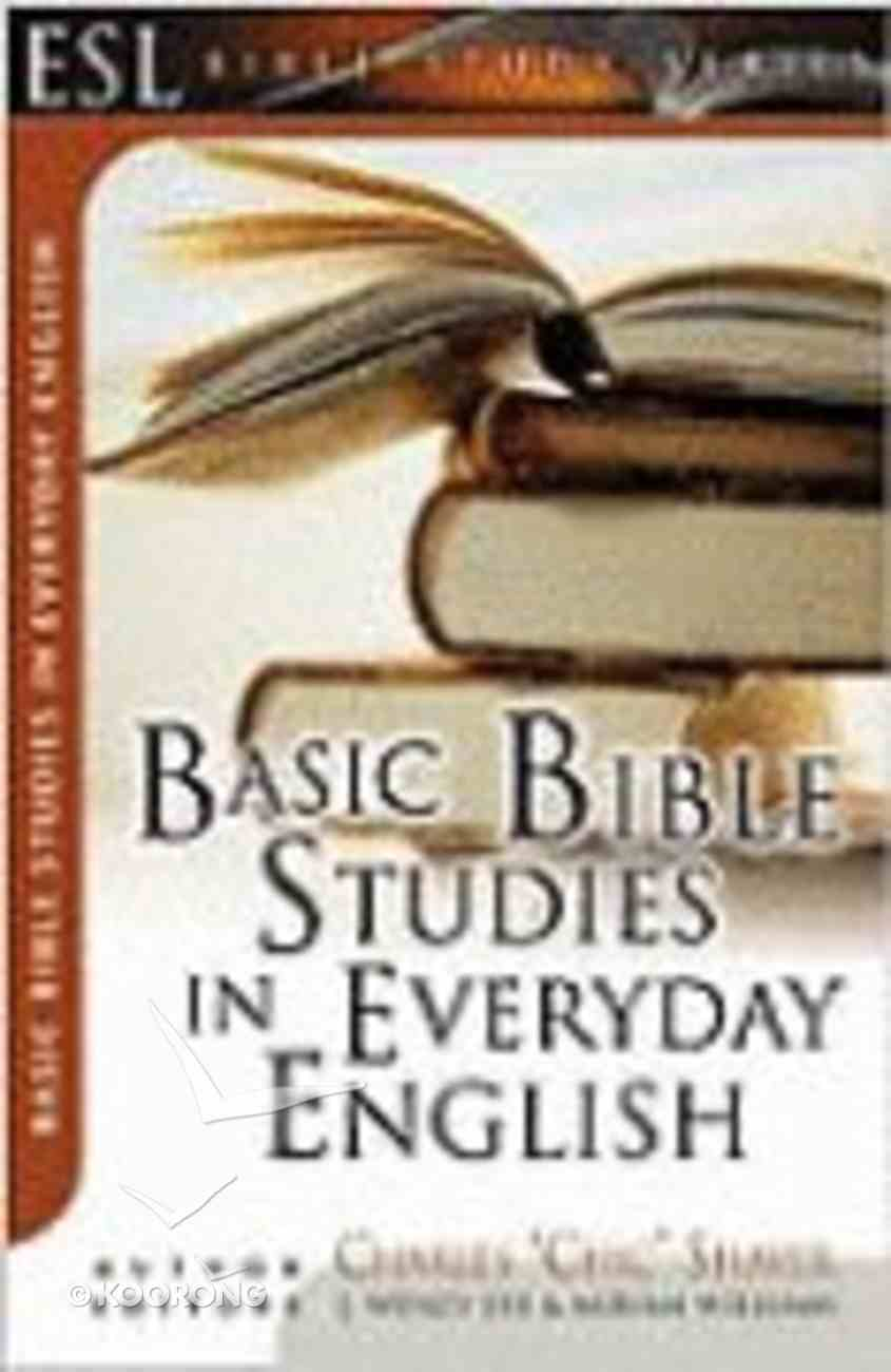 Basic Bible Studies in Everyday English (English As Second Language Bible Study Series) Pack