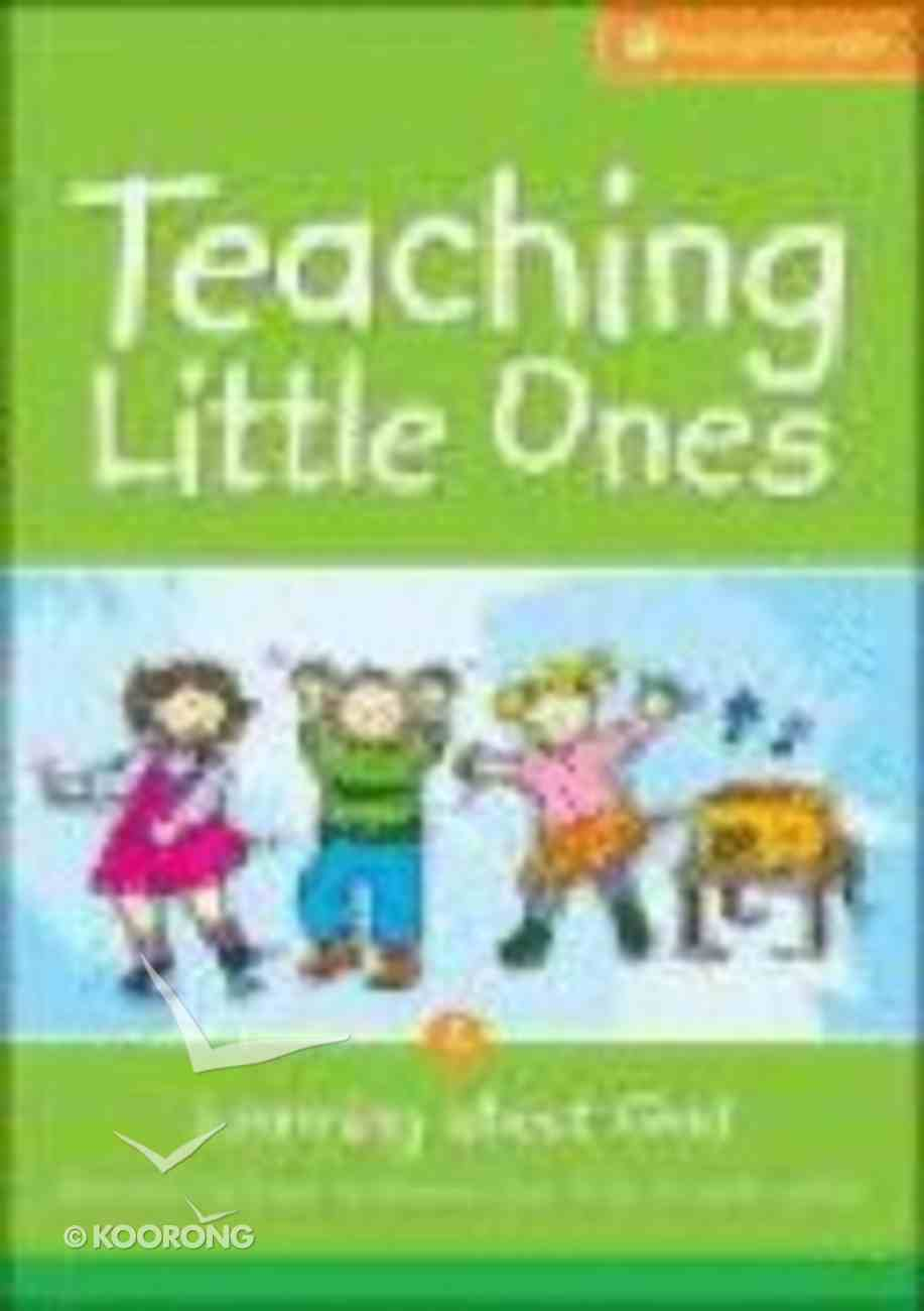 Teaching Little Ones #02: Learning About God CDROM (3-5 Years) (#02 in Teaching Little Ones Sunday School Lessons Series) CD-rom