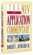 Joshua (Niv Application Commentary Series) Hardback