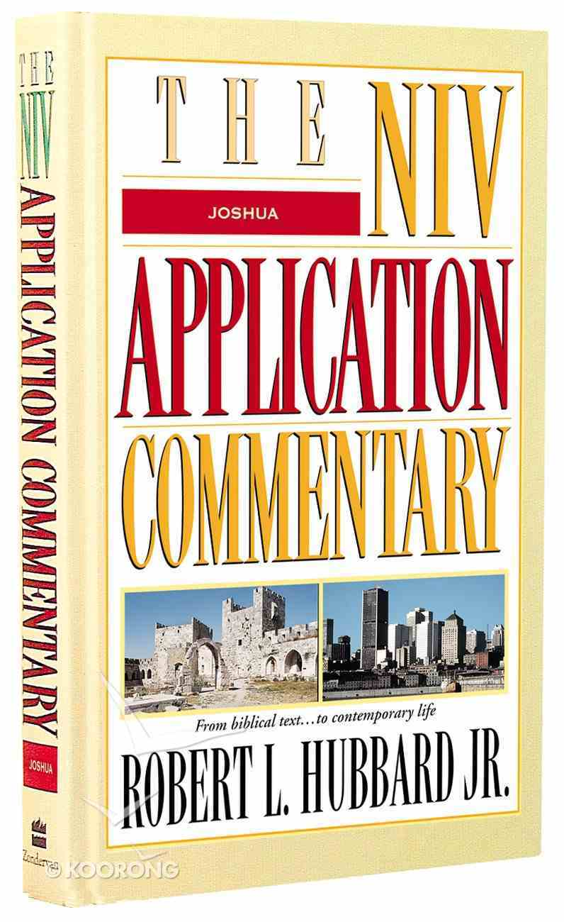 Joshua (Niv Application Commentary Series) Hardback