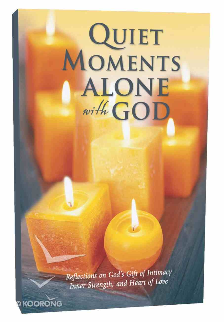 Quiet Moments Alone With God Hardback
