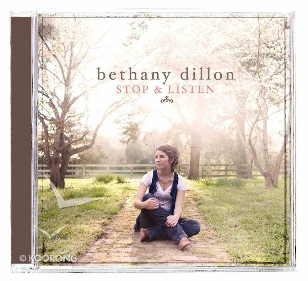 Stop and Listen CD