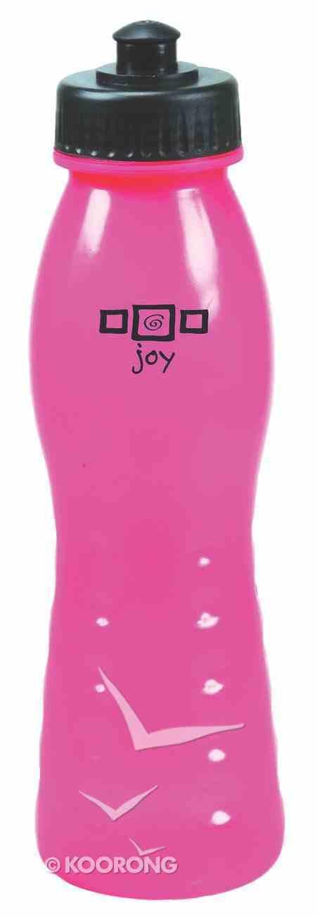 Water Bottle 680ml: Pink Joy Homeware