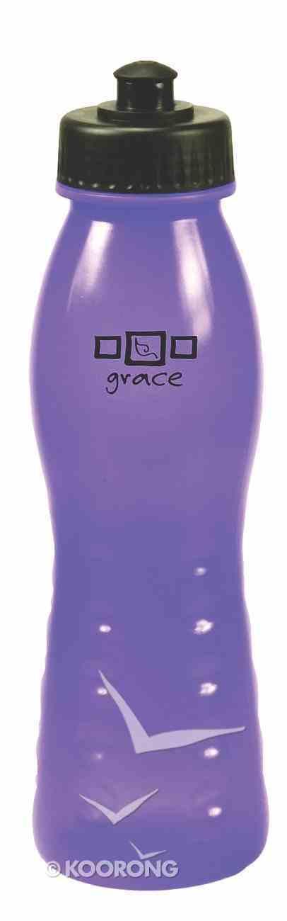 Water Bottle 680ml: Purple Grace Homeware