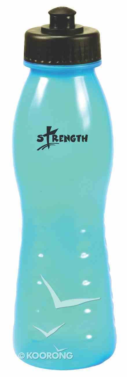Water Bottle 680ml: Blue Strength Homeware