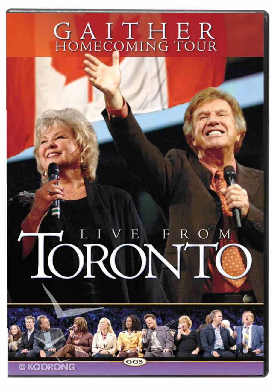 Live From Toronto (Gaither Gospel Series) DVD