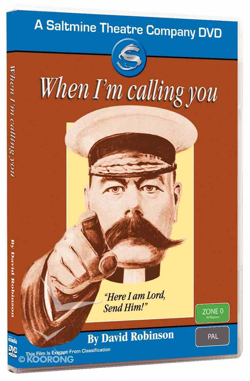 When I'm Calling You DVD