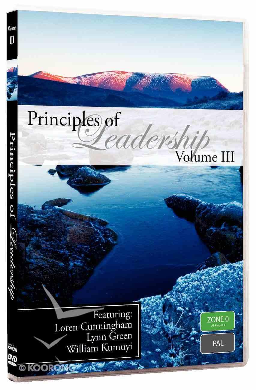 Loren Cunningham, Lynn Green, William Kumuyi (#03 in Principles Of Leadership Series) DVD