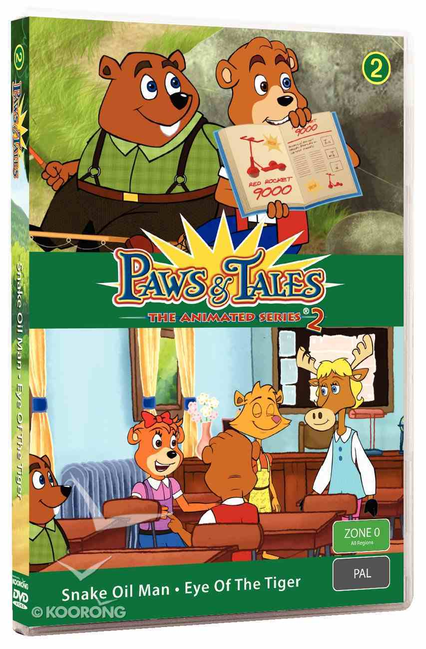 Series 2 #02 (Episodes 17,18) (#2.2 in Paws & Tales Series) DVD
