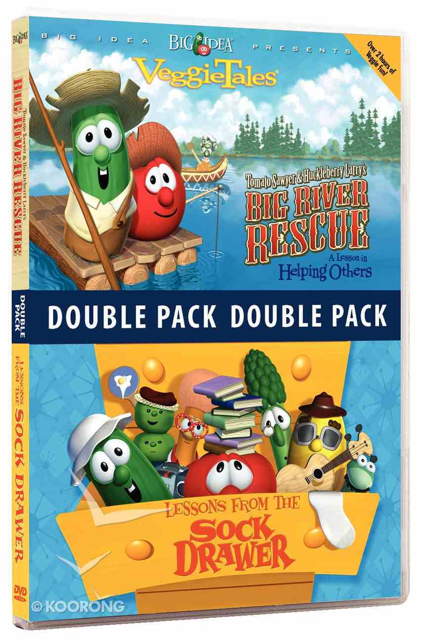 Tomato Sawyer/Lessons From the Sock Drawer (Veggie Tales Visual Double Feature Series) DVD