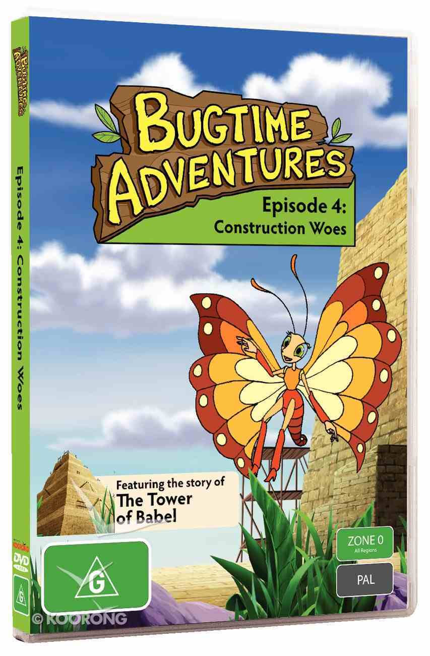 Construction Woes (#04 in Bugtime Adventures Series) DVD