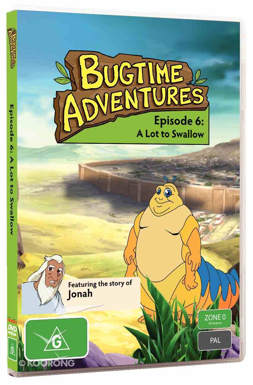 A Lot to Swallow (#06 in Bugtime Adventures Series) DVD