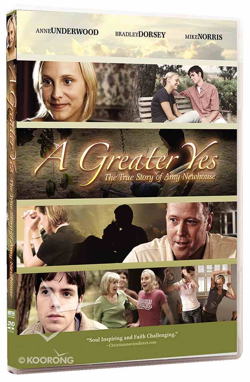 A Greater Yes: The True Story of Amy Newhouse DVD