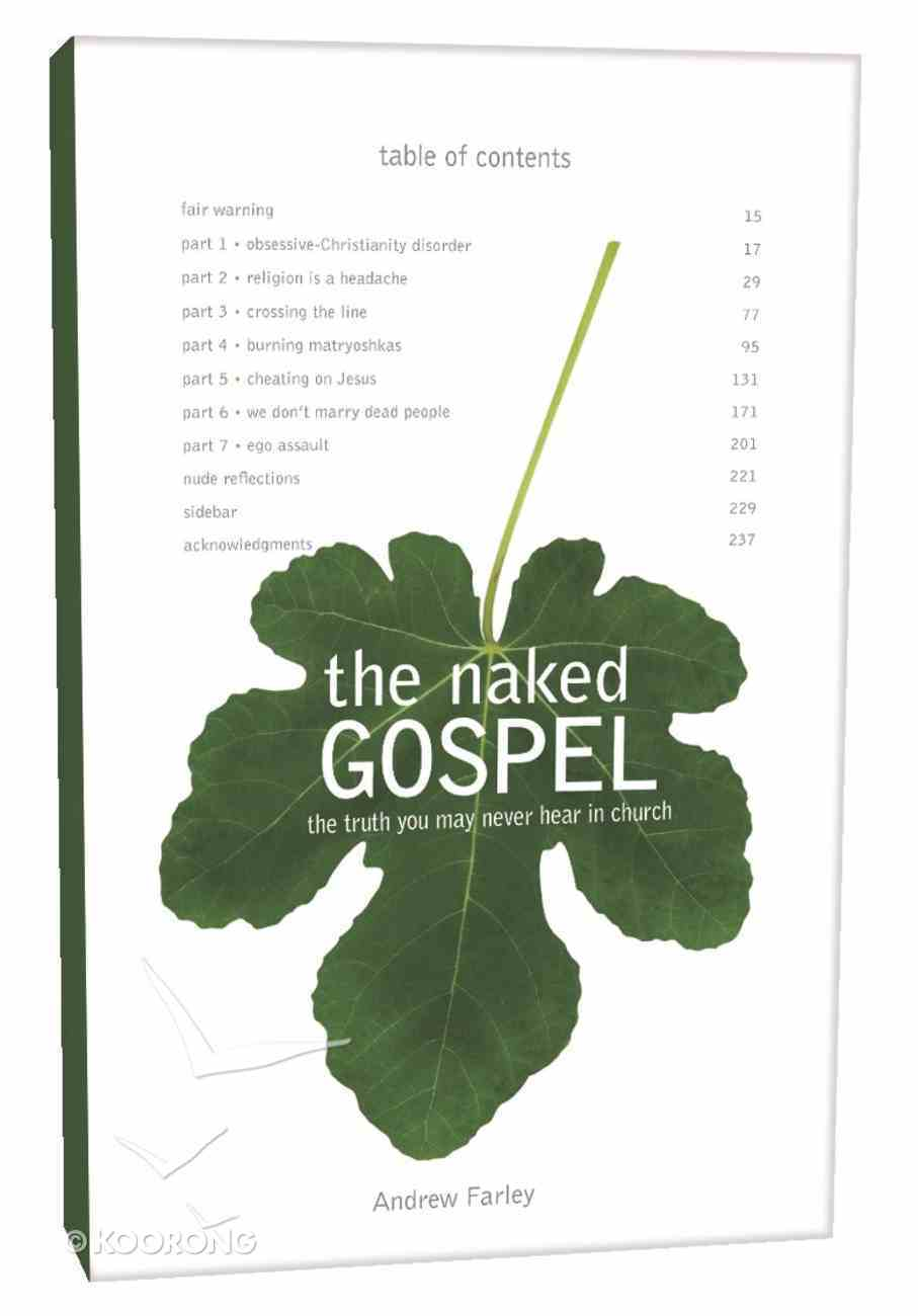 The Naked Gospel Paperback