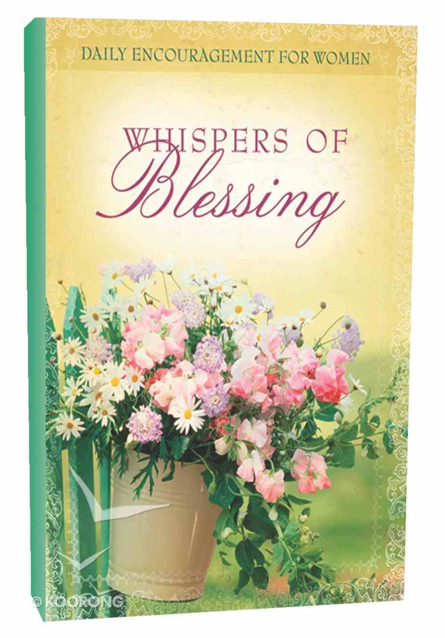 Whispers of Blessing Hardback