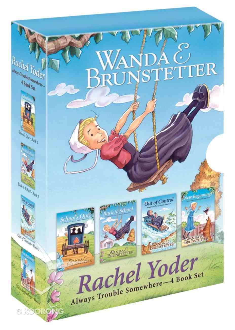 Rachel Yoder 4 Book Set (01-04) (Rachel Yoder - Always Trouble Somewhere Series) Box