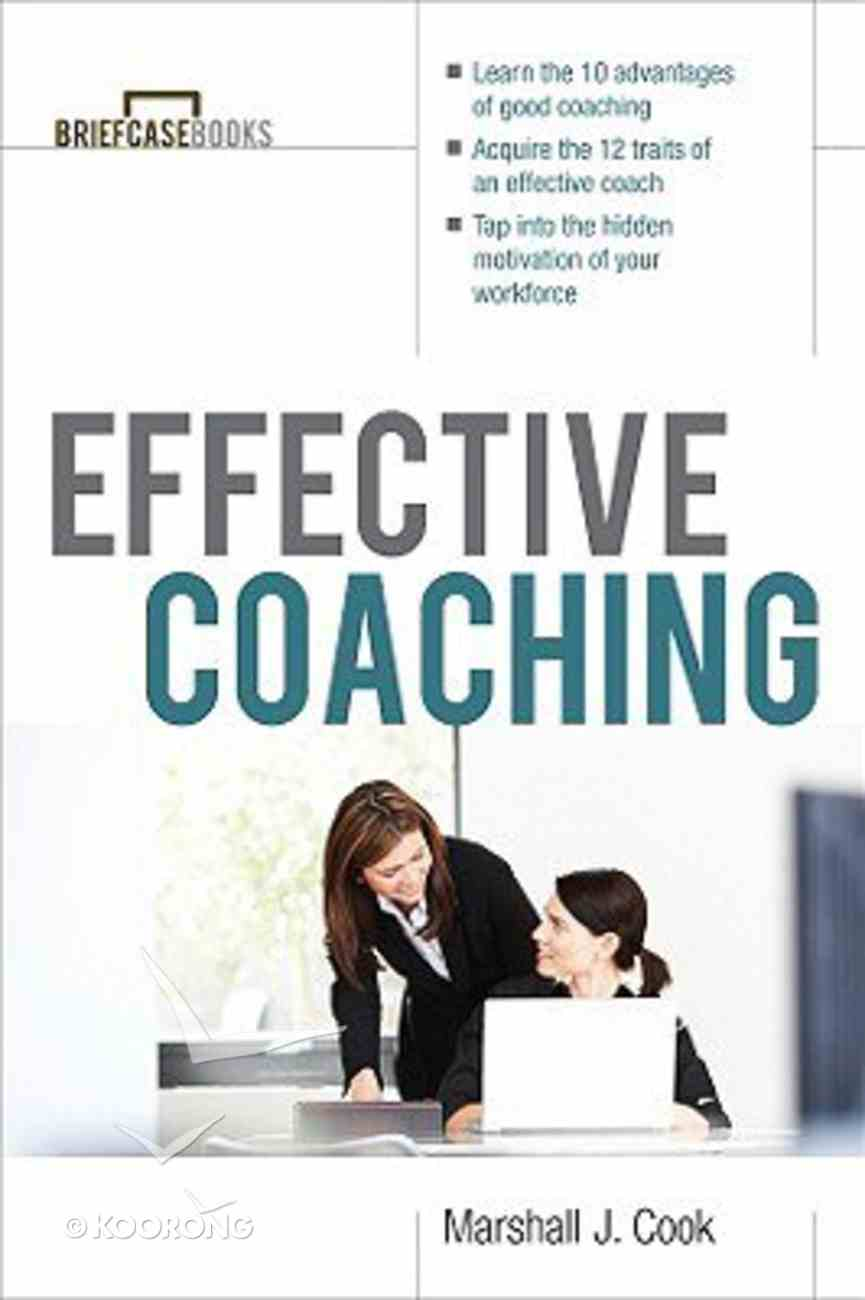 Effective Coaching Paperback