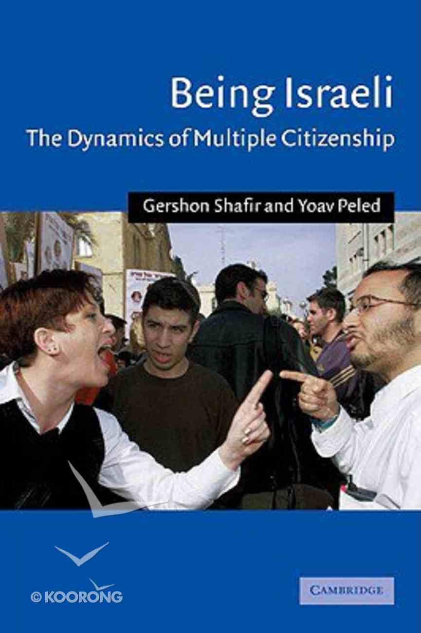 Being Israeli Paperback