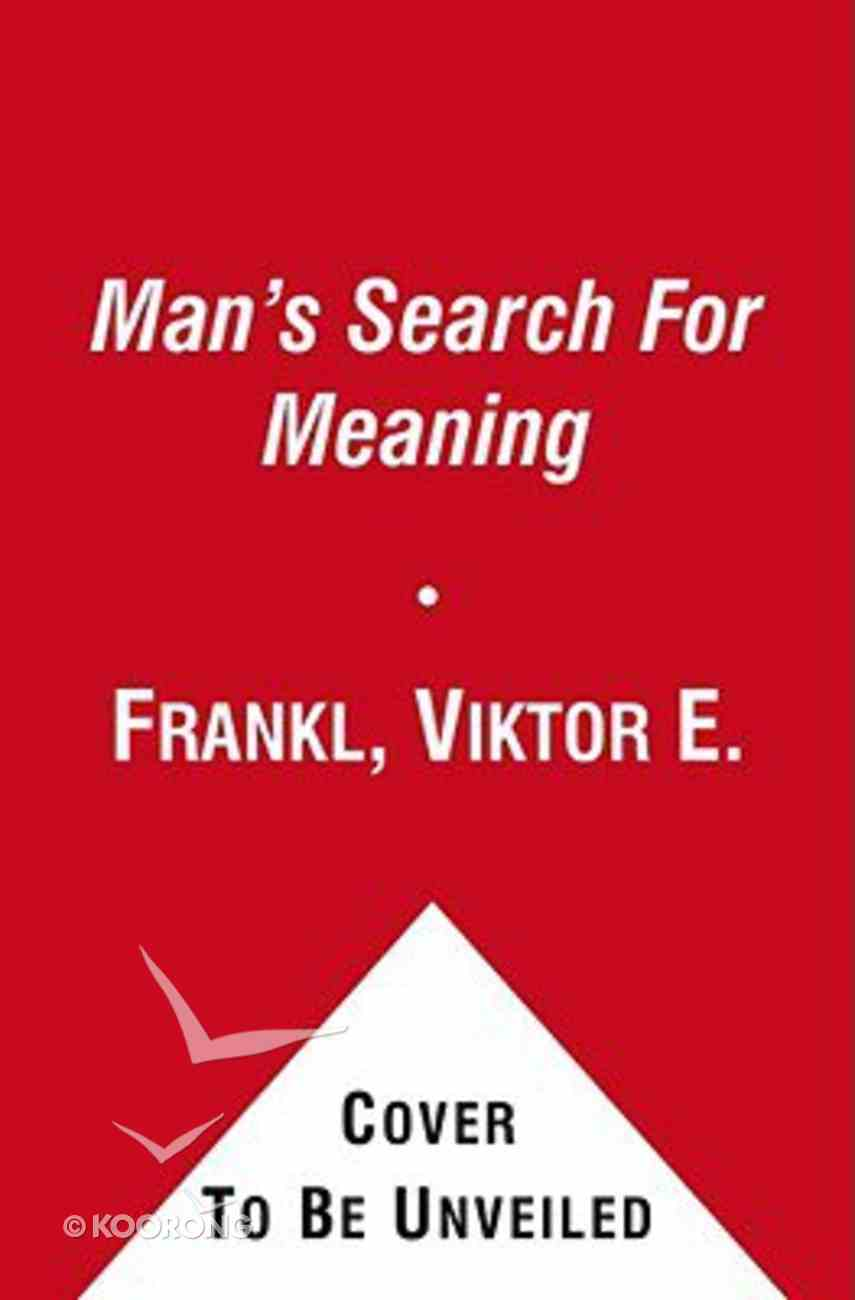Man's Search For Meaning Paperback