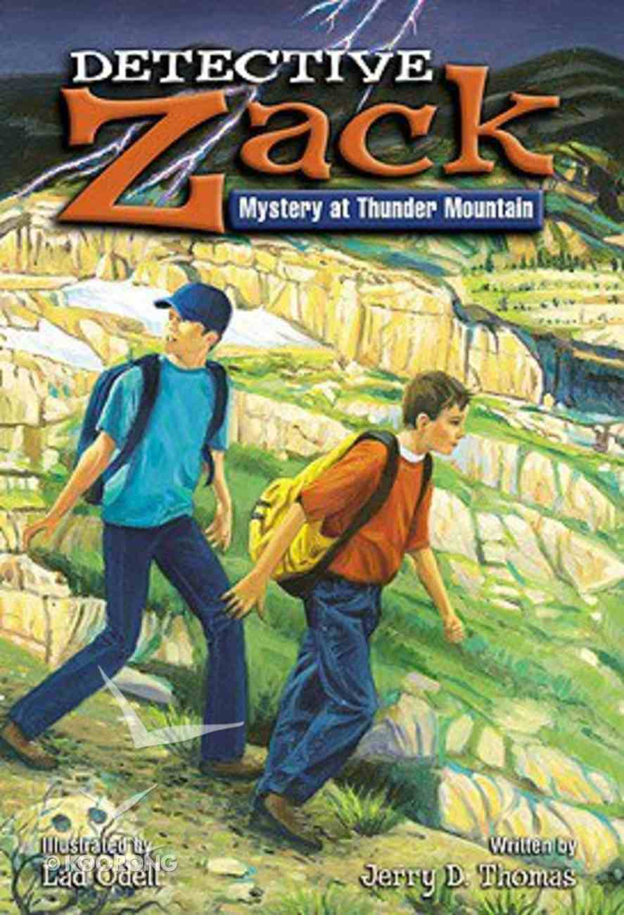 Mystery At Thunder Mountain (Detective Zack Series) Paperback