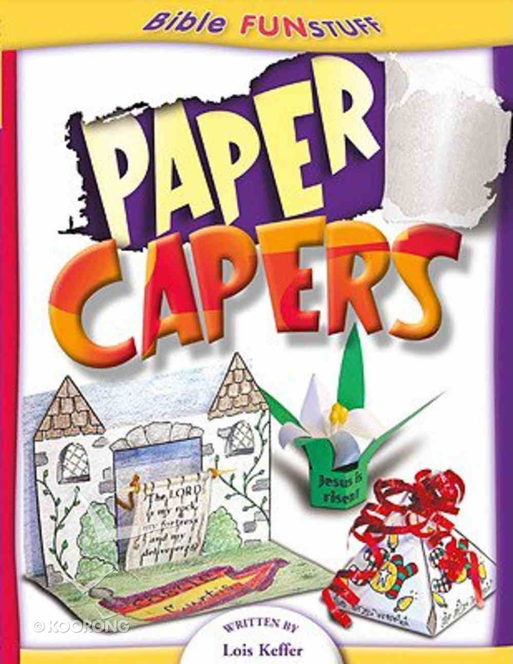 Paper Capers (Godprints Bible Fun Stuff Series) Paperback