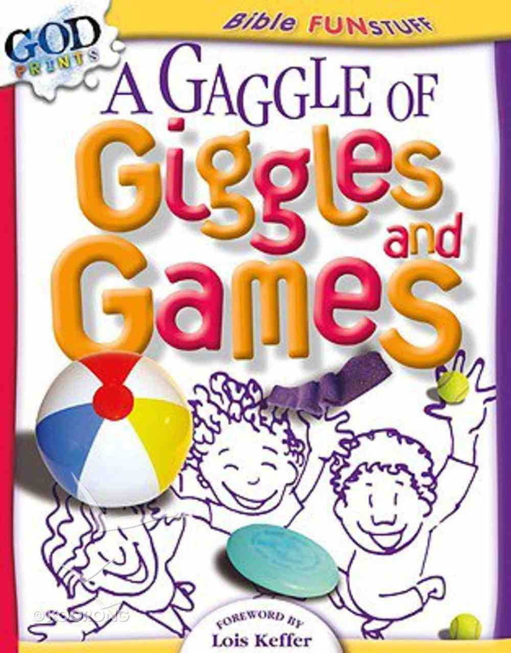 A Gaggle of Giggles and Games (Godprints Bible Fun Stuff Series) Paperback
