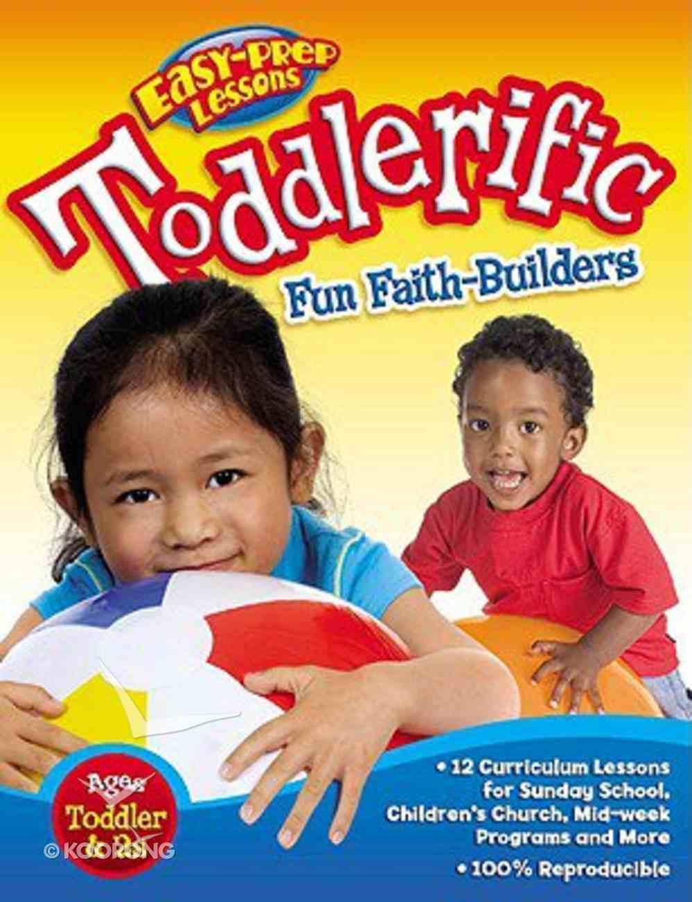 Toddlerific (Godprints Bible Fun Stuff Series) Paperback