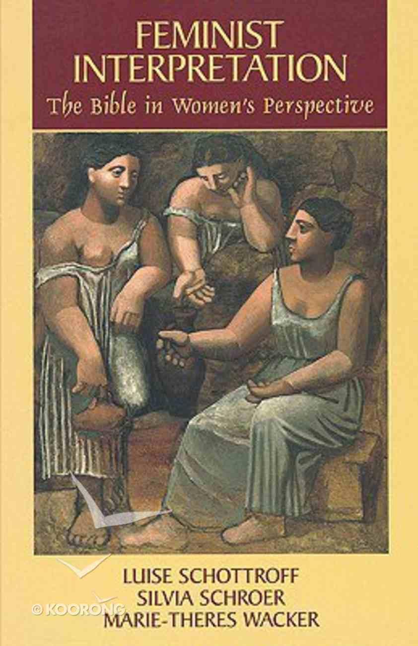 Feminist Interpretation Paperback
