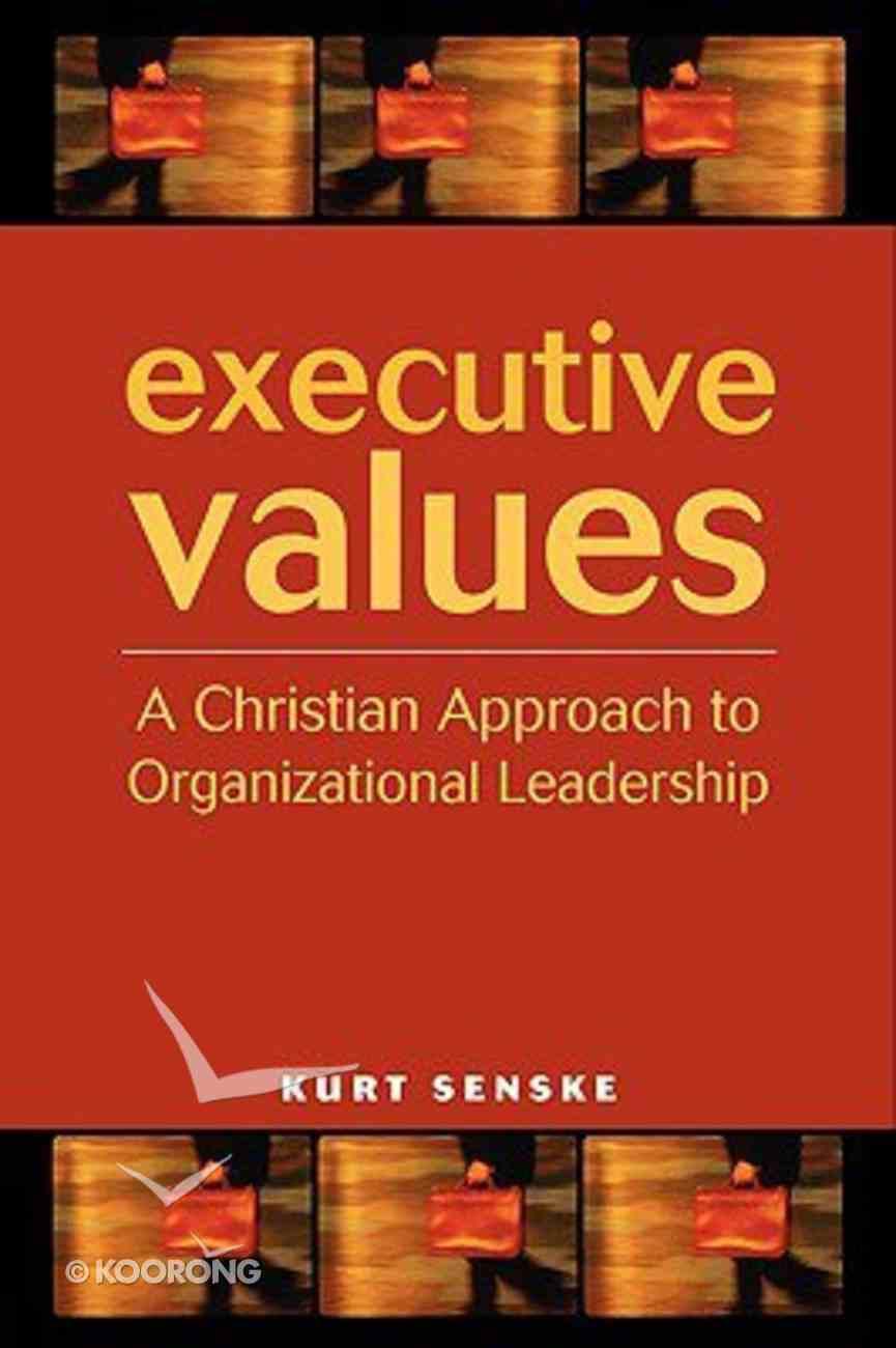 Executive Values Hardback
