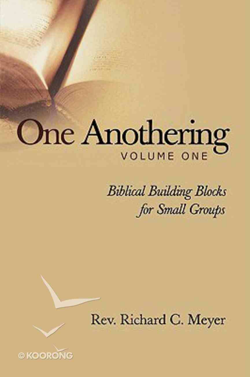 One Anothering Volume 1 Paperback