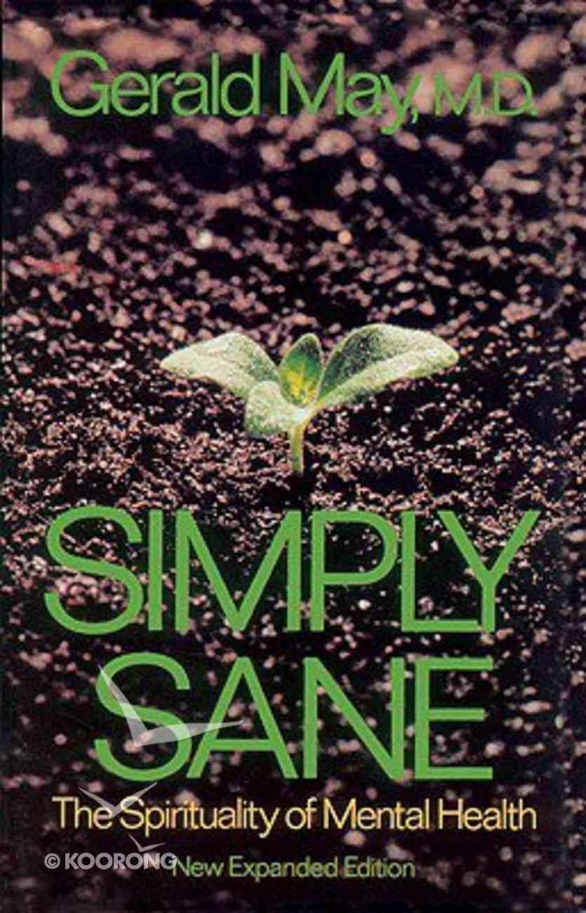 Simply Sane Paperback