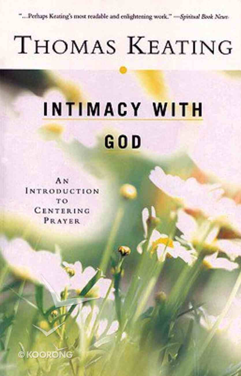 Intimacy With God Paperback