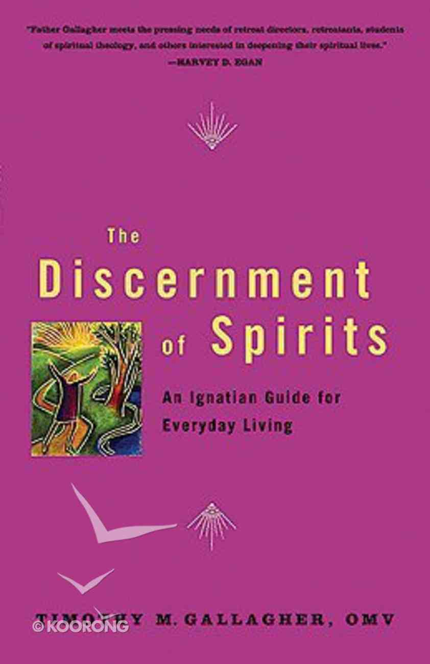 The Discernment of Spirits Paperback