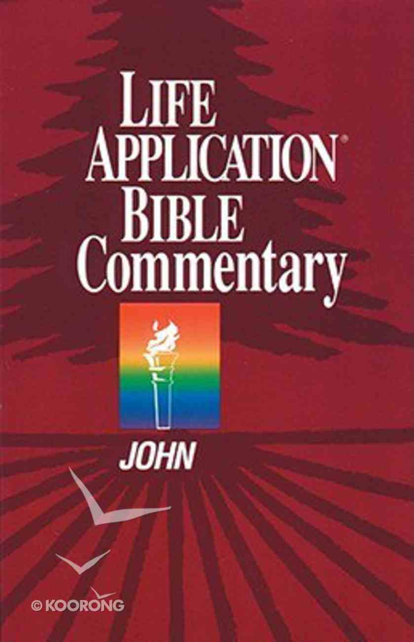 John (Life Application Bible Commentary Series) Paperback