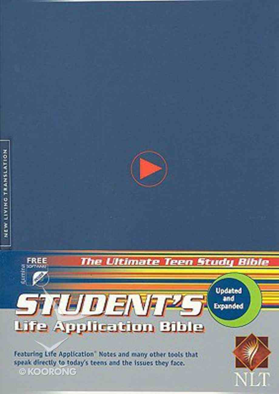 NLT Students Life Application Bible Blue (2005) Hardback