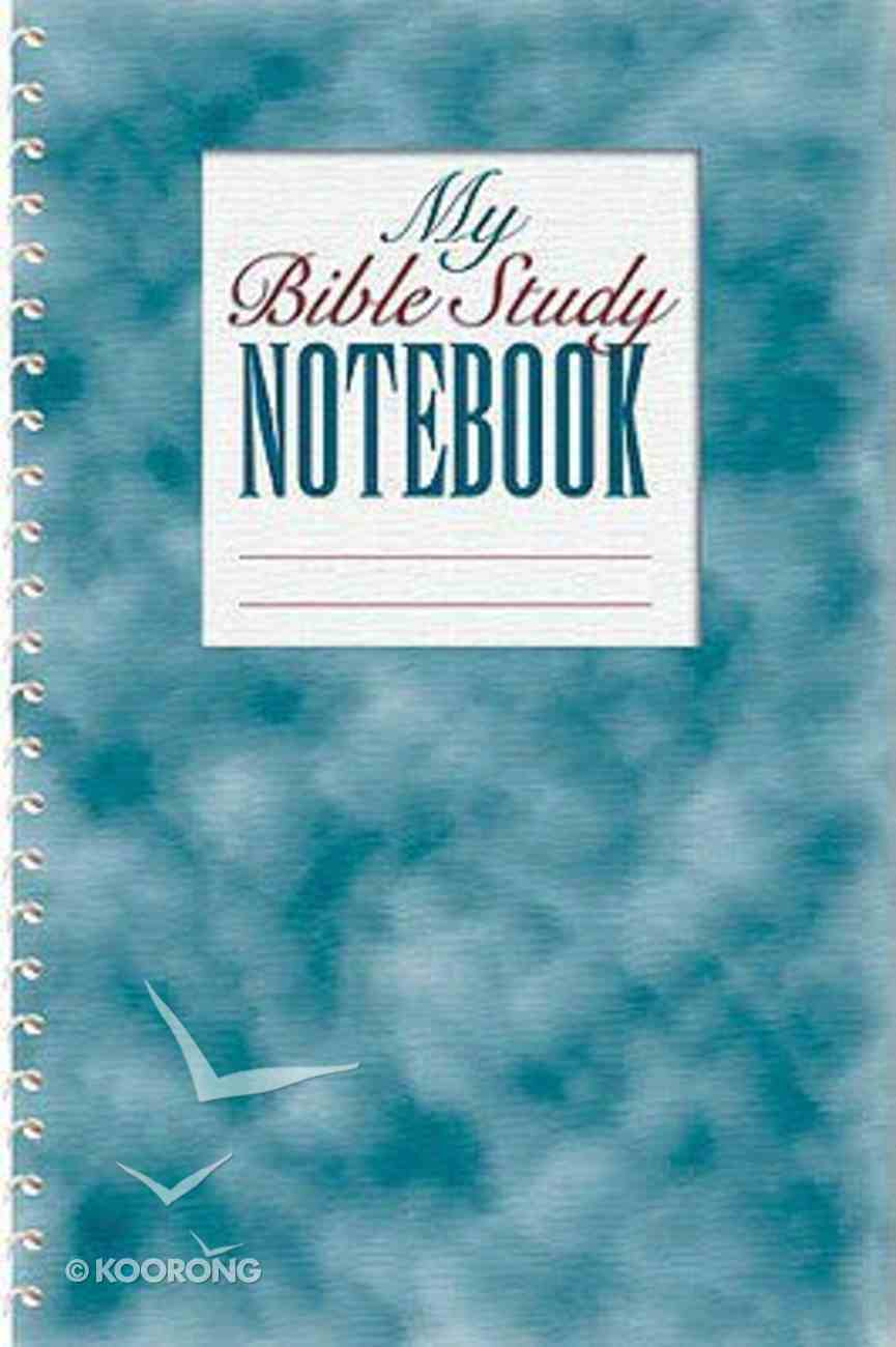 My Bible Study Notebook Spiral