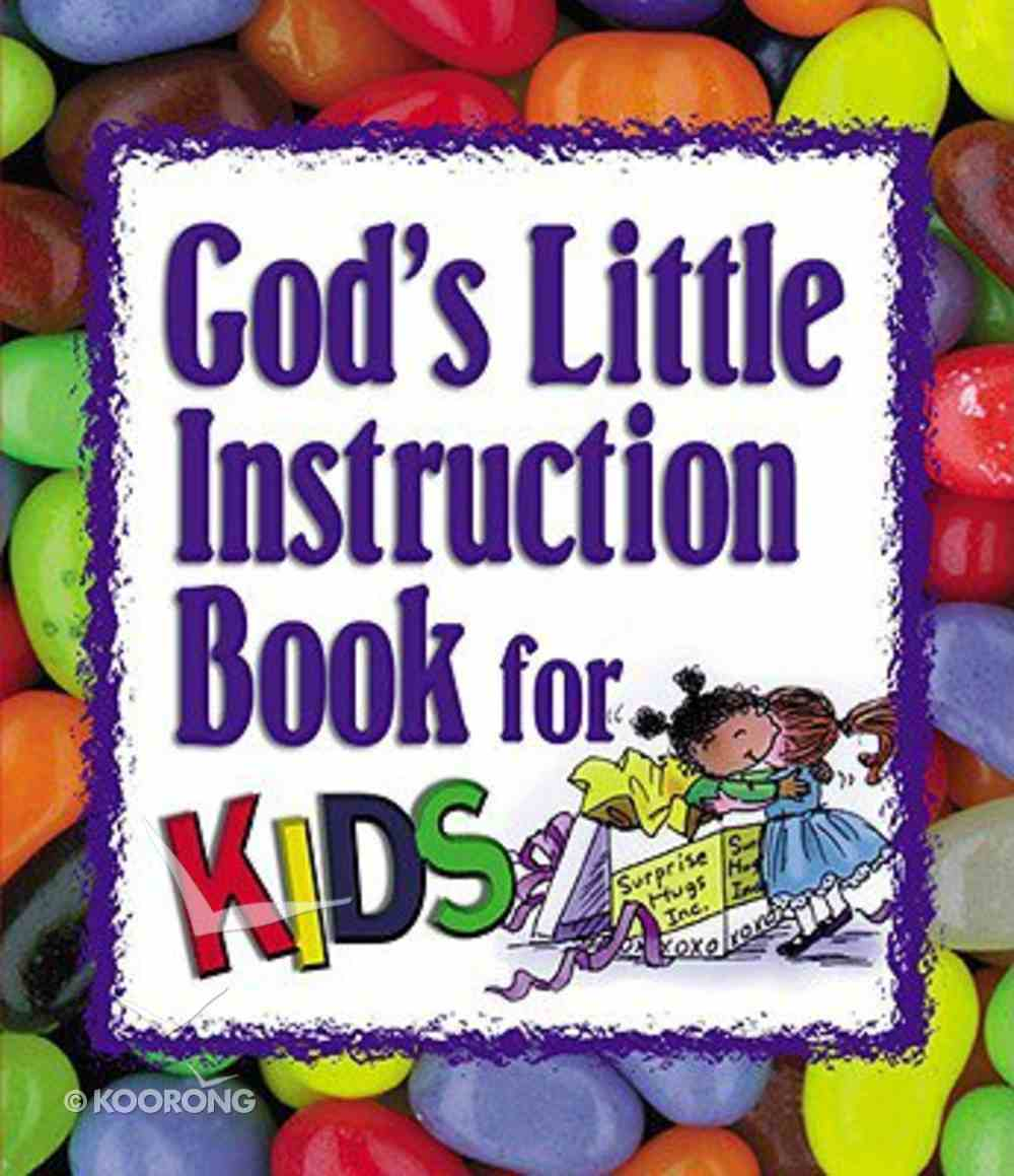 God's Little Instruction Book For Kids (Mini) Paperback