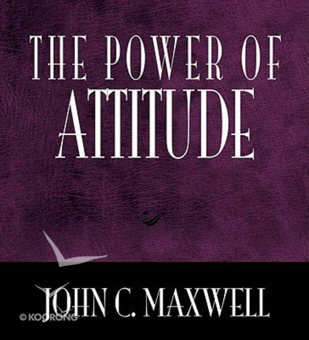 The Power of Attitude Hardback