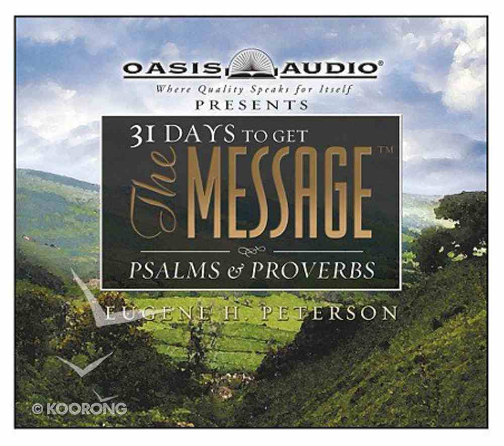 Message Psalms and Proverbs CD