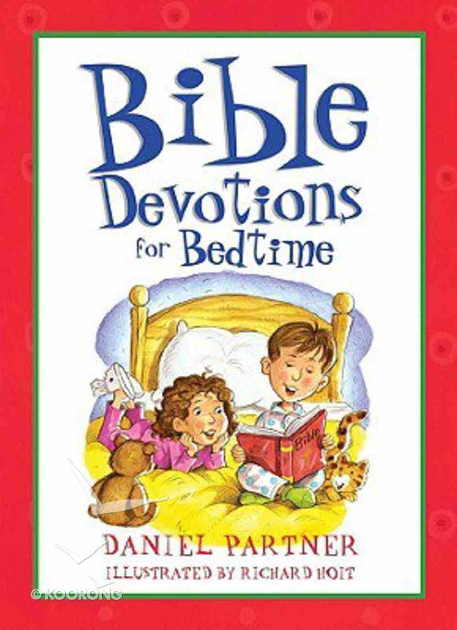 Bible Devotions For Bedtime Paperback