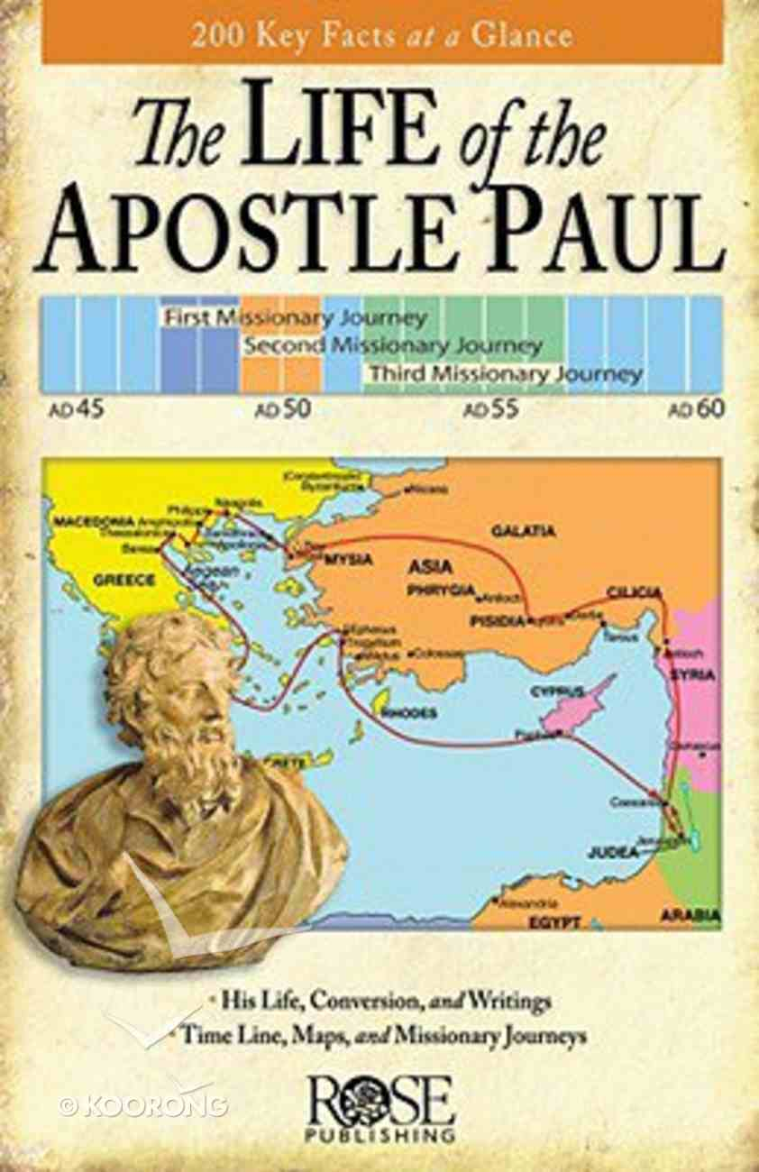 Life of Paul Overview (Rose Guide Series) Booklet
