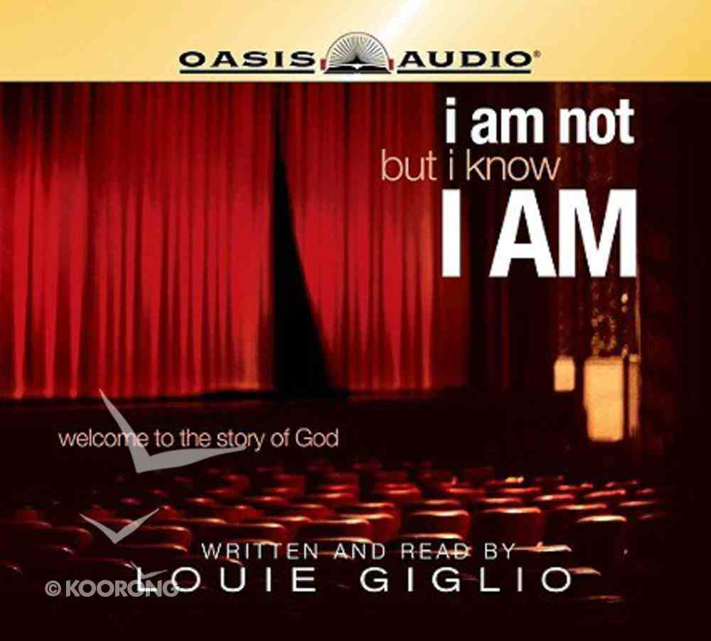I Am Not, But I Know I Am CD