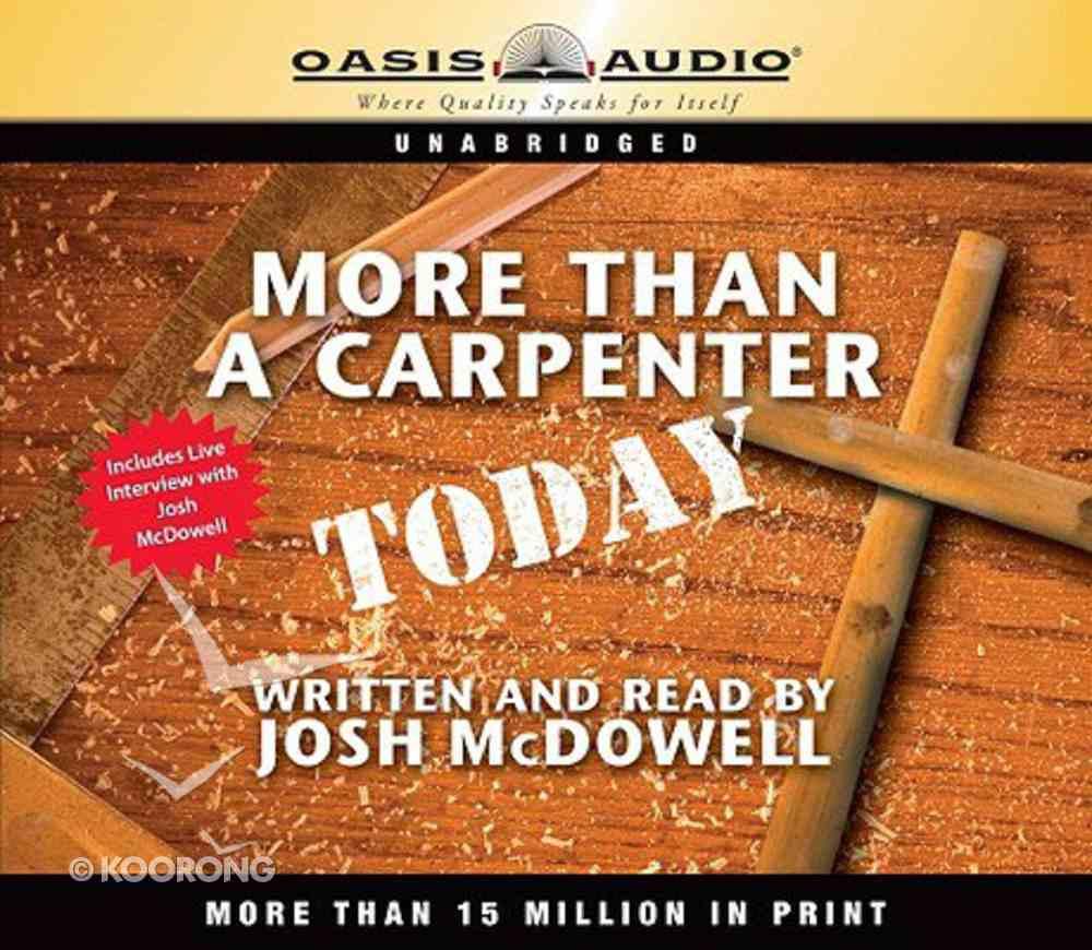More Than a Carpenter Today CD